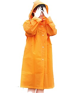 tanie Kurtki turystyczne i polary-Dla obu płci Dlouhá pláštěnka Na wolnym powietrzu Ochrona przed deszczem Topy Dowód deszcz Ćwiczenia na zewnątrz