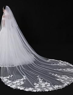 aeebc898db4c Dvě vrstvy Moderní styl Květiny Doplňky Krajkové lemování Velkoformátové  Pro nevěstu Princeznovské Evropský Krajkový Svatba Závoje