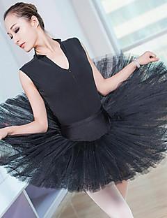 tanie Stroje baletowe-Balet Doły Damskie Wydajność Nylon Koronka Bez rękawów Wysoki Spódnice