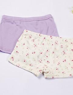billige Undertøj og sokker til piger-Pige Undertøj Ensfarvet, Bomuld Forår Hvid Lilla
