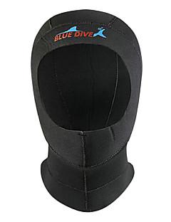 お買い得  ウェットスーツ/ダイビングスーツ/ラッシュガードシャツ-Bluedive ダイビングフード 3mm ナイロン / ネオプレン のために 大人 - 保温, 速乾性, 保護 水泳 / 潜水 / サーフィン