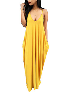 cheap Maxi Dresses-Women's Boho T Shirt Dress - Solid Colored