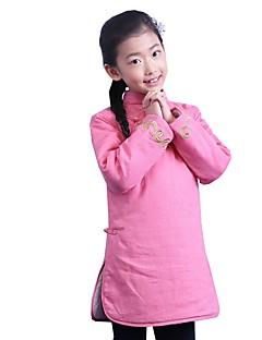 tanie Etniczne & Cultural Kostiumy-Cosplay Spódnice Sukienka typu A-Line Sukienka ołówkowa Damskie Festiwal/Święto Kostiumy na Halloween Pink Red Jendolity kolor Uniformy i