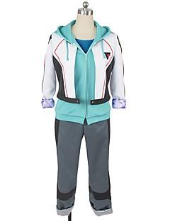"""billige Anime cosplay-Inspirert av Programmene Frontier Cosplay Anime  """"Cosplay-kostymer"""" Cosplay Klær Annen Langermet Frakk Topp Bukser Mer Tilbehør Hodeplagg"""