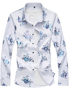 cheap Men's Shirts-Men's Club Shirt - Floral, Print