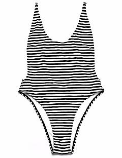 billige Bikinier og damemote 2017-Dame En del G-streng Ensfarget Blomstret