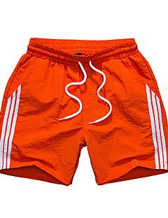 billige Herrebukser og -shorts-Herre Sporty Shorts Bukser Ensfarget