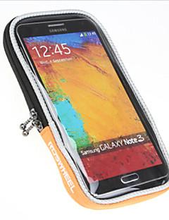 cheap Bike Bags-ROSWHEEL Bike Handlebar Bag Cell Phone Bag 5.0 inch Waterproof Rain-Proof Waterproof Zipper Dust Proof Phone/Iphone Phone Holder Touch