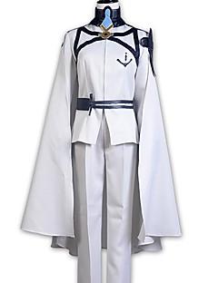 """billige Anime Kostymer-Inspirert av Seraf av End Cosplay Anime  """"Cosplay-kostymer"""" Cosplay Klær Annen Langermet Frakk / Bukser / Mer Tilbehør Til Herre / Dame Halloween-kostymer"""