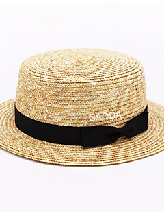 billige Trendy hatter-Herre Dame Fritid Bowlerhatter Ensfarget
