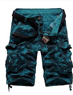 billige Herrebukser og -shorts-Herre Bomull Shorts Bukser Kamuflasje