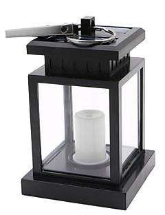 billige Lampestolper-YWXLIGHT® 1pc 2W LED Solcellebelysning Dekorativ Utendørsbelysning Varm hvit DC3.7V