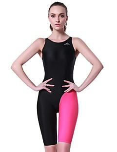 hesapli Atletik Mayo-Kadın's Mayo Rahat, Spor Naylon / Splandeks Kolsuz Mayolar Sahil Giyimi Bodysuit Yüzme