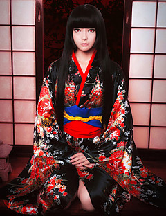 cheap Anime Cosplay-Inspired by Hell Girl Enma Ai Cookie Anime Anime Cosplay Costumes Cosplay Suits Other Collar Bow Sash / Ribbon For Women's
