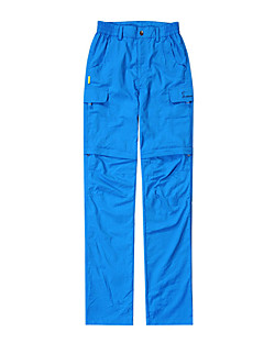cheap Hiking Trousers & Shorts-Women's Hiking Pants Outdoor Mountaineering, Back Country, Fitness Convertible Pants / Pants / Trousers Outdoor Exercise