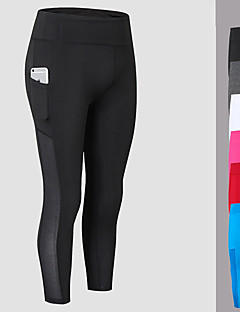 cheap Fitness Clothing-Yoga Pants 3/4 Tights Fast Dry Mid Rise High Elasticity Sports Wear Women's FORSINING Yoga Exercise & Fitness Gym Running