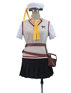 """billige Anime cosplay-Inspirert av God Eater Cosplay Anime  """"Cosplay-kostymer"""" Cosplay Klær Annen Kort Erme Vest Trøye Skjørte Veske Mer Tilbehør Midjebelte"""