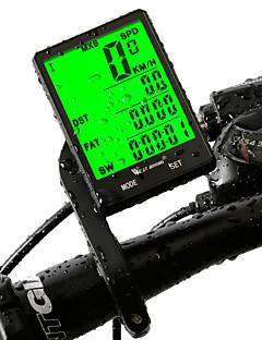 """billiga Cykling-WEST BIKING® Cykeldator / Cykelhastighetsmätare Vattentät / Tidtagarur / 2,8 """"stor skärm Cykling / Cykel / Camping / Vandring /"""