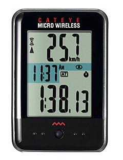 billiga Cykling-CatEye® Micro Wireless MC200W Cykeldator Tidtagarur bakgrundsbelysning Hastighetsmätare Berg Utomhus Cykelsport