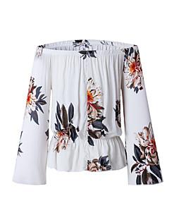 זול חולצות לנשים-אחיד חמוד טישרט-בגדי ריקוד נשים
