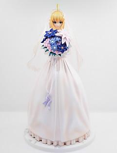 billige Anime cosplay-Anime Action Figurer Inspirert av Fate / Stay Night Cosplay PVC CM Modell Leker Dukke Herre Dame