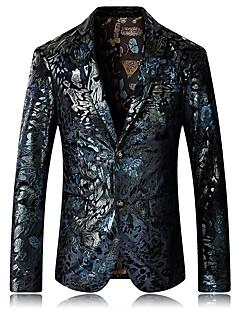 billige Herremote og klær-Blazer - Blomstret Forretning Grunnleggende Herre