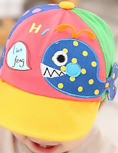 tanie Akcesoria dla dzieci-Kapelusze i czapki - Dla obu płci - Wiosna Lato - Bawełna Niebieski Czerwony Yellow Fuchsia Light Blue