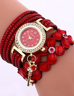 billige Armbåndsure-Dame Quartz Armbåndsur Kinesisk Afslappet Ur PU Bånd Afslappet Mode Sort Hvid Blåt Brun Lilla Marine Himmelblå