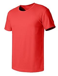 tanie Koszulki turystyczne-Męskie T-shirt turystyczny Na wolnym powietrzu Szybkie wysychanie, Oddychalność, Odvádí pot T-shirt Nie dotyczy Kemping i turystyka / Ćwiczenia na zewnątrz / Multisport