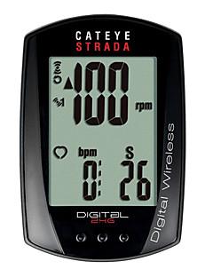 billiga Cykling-CatEye® Strada Digital CC-RD410DW Cykeldator Tidtagarur Vattentät Hastighetsmätare Berg Utomhus Cykelsport