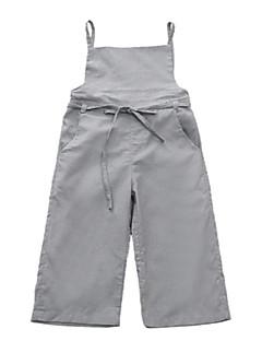 billige Bukser og leggings til piger-Børn Pige Basale Ensfarvet Bukser