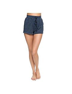 voordelige Damesbroeken-Dames Schattig Standaard Shorts Chinos (zwaar katoen) Broek Effen