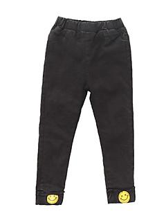 billige Bukser og leggings til piger-Børn Pige Geometrisk Trykt mønster Bukser