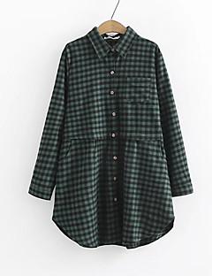 billige Skjorte-Dame-Ruder Gade Skjorte