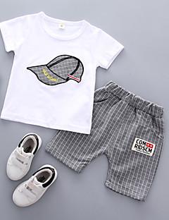 billige Tøjsæt til drenge-Drenge Stribet Uden ærmer Tøjsæt