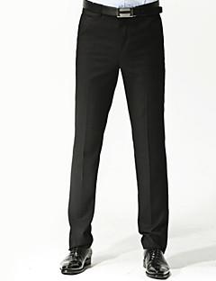 billige Herremote og klær-Herre Forretning Dressbukser Bukser Ensfarget