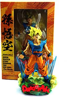 baratos Cosplay Anime-Figuras de Ação Anime Inspirado por Dragon ball Son Goku PVC 23 cm CM modelo Brinquedos Boneca de Brinquedo
