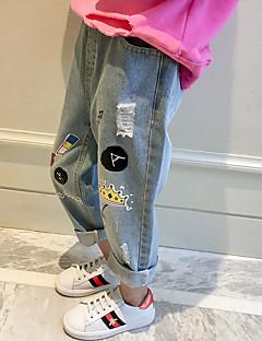billige Bukser og leggings til piger-Børn Unisex Trykt mønster Bukser
