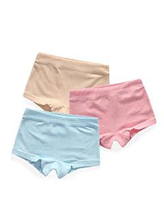 billige Babytøj-1 Baby Pige Ensfarvet Undertøj og strømper