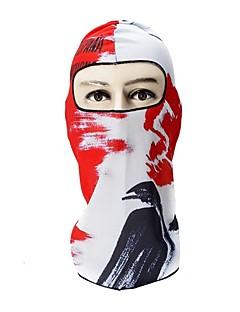 billige Sykkelklær-balaclavas / Ansiktsmaske Alle årstider Hold Varm / Vindtett / Pusteevne Camping & Fjellvandring / Utendørs Trening / Sykling / Sykkel Unisex Spandex Fargeblokk / 3D Print