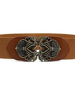 billige Trendy belter-Dame Vintage Smalt belte Legering / PU / Polyester / Alle årstider