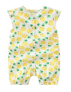 billige Babytøj-Baby Pige Ananas Galakse Uden ærmer En del