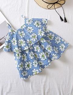 billige Pigekjoler-Baby Pige Blomstret Uden ærmer Kjole