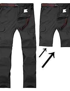 tanie Turystyczne spodnie i szorty-Męskie Turistické kalhoty Na wolnym powietrzu Szybkie wysychanie, Oddychalność, SPF35 Spodnie / Spodnie przekształcane w szorty Piesze wycieczki / Ćwiczenia na zewnątrz / Multisport / Elastyczny / a