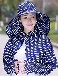 billige Clothing Accessories-Turcaps Hatt Lettvekt Fort Tørring UV-bestandig Sommer Rosa Dame Fisking Reise Prikker / Elastisk