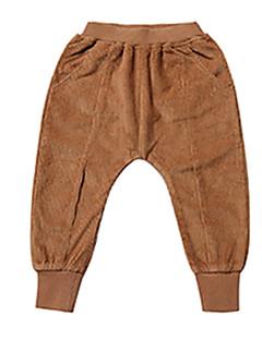 billige Drengebukser-Børn Drenge Ensfarvet Bukser