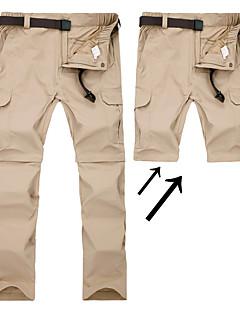 tanie Odzież turystyczna-Męskie Spodnie turystyczne Na wolnym powietrzu Szybkie wysychanie, Oddychalność, SPF35 Lato Spodnie, Spodnie przekształcane w szorty Piesze wycieczki Ćwiczenia na zewnątrz Multisport 4XL 5XL 6XL
