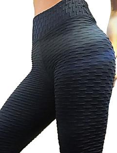 tanie Getry-Damskie Podstawowy Legging - Solidne kolory Średni Talia / Wiosna / Lato / Sportowy look