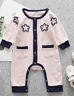 billige Babytøj-Baby Unisex Stribet Langærmet En del