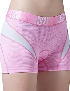 povoljno -SANTIC Žene Biciklističke gaćice Bicikl Kratke hlače / Donje rublje Shorts / Podstavljene kratke hlače Prozračnost, Kompresija,